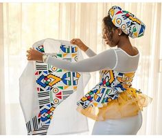 15 Traditional Attires Shweshwe , There are several ways in which you can wear your maxi dresess at different times on the images blow. Latest African Fashion Dresses, African Print Dresses, African Dress, African Style, Couples African Outfits, Couple Outfits, Emo Outfits, Xhosa Attire, African Wedding Attire