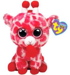 beanie boo named jungle love Girafe Rose c5faa72cfaa2