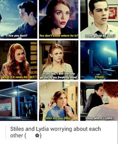 Stydia feels. Tumblr.