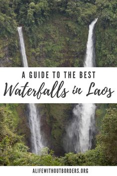 Go beyond Kuang Si Falls to discover a wealth of stunning Laos waterfalls that are worth chasing. Here are 12 of the best waterfalls in Laos. Luang Prabang, Laos Travel, Asia Travel, Travel Plane, Taiwan Travel, Cool Places To Visit, Places To Go, Vietnam, Asia Continent