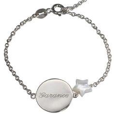 Bracelet Lovely nacre étoile (argent 925°) : Petits trésors