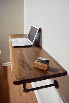 Dit item is niet beschikbaar – Diy Furniture Ideas Diy Office Desk, Diy Computer Desk, Diy Desk, Corner Desk Diy, Diy Wood Desk, Corner Table, Wall Mounted Desk, Wall Desk, Diy Home Decor