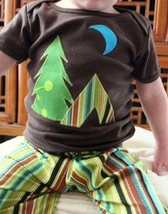 Items similar to Little Camper Tee -- short or long sleeve tee 0-6mo to 6T  on Etsy ee2f166ae