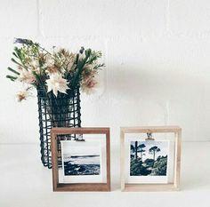Beautiful ideas to display photo's