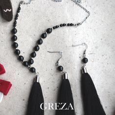 Серьги кисти и сотуар стильного черного цвета. #серьгикисти#серьгикисточки#сотуар#серьги#серьгиекатеринбург#ручнаяработа#черный#греза#greza#tasselearrings#handmade