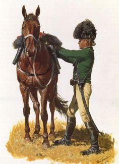 British Legion Dragoon, 1780.