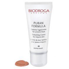 Biodroga Puran Formula Tinted Day Cream for Impure Skin - 1.7 oz - Honey Touch