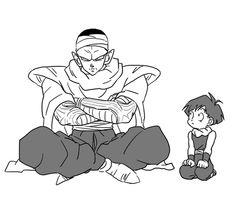 Gohan and Piccolo 「DBログ 8~11月分」/「P」の漫画 [pixiv]