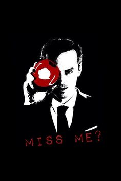 Did you miss me? #Moriarty #Sherlock