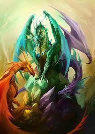 dragons on deviantart