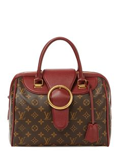 Burgundy Monogram Golden Arrow Speedy from Game-Changing Gifts: Vintage Handbags & More on Gilt