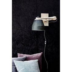 Madam Stoltz Wandlamp - Zwart