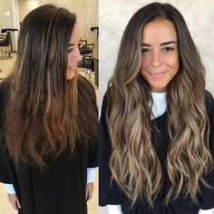 Before & After 😍 w/ Wendy Wilker.extensions & softer more blended c… – Hair Extensions Hair Extensions Tutorial, Brown Hair Extensions, Hair Extensions Before And After, Long To Short Hair, Short Hair Cuts, Long Hair Styles, Balayage Hair Blonde, Brunette Hair, Hair Extension Care