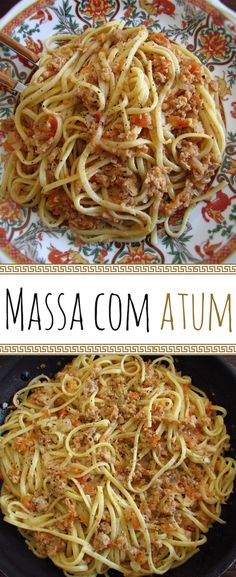 Going to receive friends at home and do not know what to do for dinner? Here's the perfect solution, prepare this tuna pasta recipe that everyone will. Pasta Salad For Kids, Salads For Kids, Pasta Recipes, Real Food Recipes, Best Sauce Recipe, Tuna Pasta, Pasta Food, Feel Good Food, Portuguese Recipes