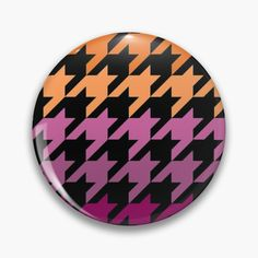 Hounds Tooth, Chiffon Tops, Lesbian, Art Prints, Abstract, Purple, Printed, Awesome, Pattern