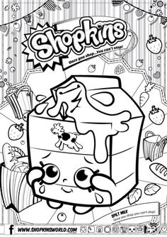 Print Free Shopkins New Coloring Pages See More Made By A Princess Downloads