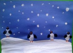 perfect for winter art project- pre k