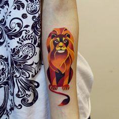 Impressive animals tattoos by Sasha Unisex | Martineken Blog
