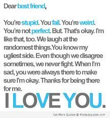 To my best friend:)