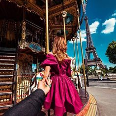#followmeto the Eiffel Tower in Paris.