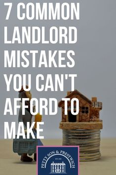 Read about 7 Common Landlord Mistakes You Can't Afford To Make. Petty Son updates you regularly with anything and everything that's happening around you. Real Estate Rentals, Real Estate Tips, Investment Property, Rental Property, Income Property, Real Estate Investing, Investing Money, Baby Steps, Property Management