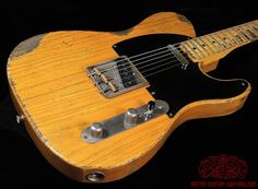 Telecaster heavy relic Butterscotch Blonde Blackguard Nocaster Broadcaster Body Artys Custom Guitars Shop Tele Relicing Swamp Ash swampash Alder Nitro NC Finish nitrofinish aged  Roadworn Arty's