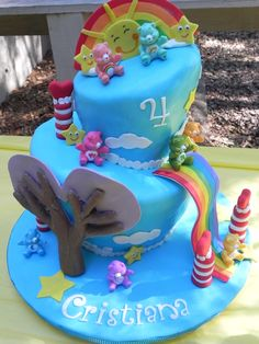 care bears + 4th + four + birthday - Google Search