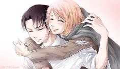 Levi x Petra #attack on titan