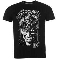 Mens Official Batman Joker T Shirt...gift idea for my niece's boyfriend! ;)