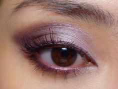 Soft Pink and Purple Evening Look — So many... - The Makeup Box - Tutorial/DIY