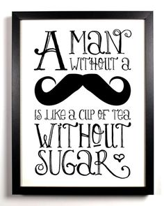 mustaches - get me every time. I married one...not the 'stache the man with the 'stache.