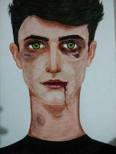 Portrait, Tattoos, Art, Tatuajes, Men Portrait, Tattoo, Tattoo Illustration, Irezumi, Portraits