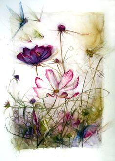 Loved visiting this studio!!! - Bonnie Bews - Hinterglas Paintings