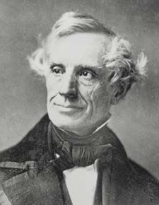 Samuel Finley Breeze Morse, inventor o Morse Code and the telegraph, was born on 27th April 1791 in Charlestown, Mass.