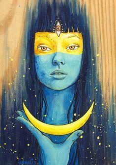 Wisdom of Luna by Annelie Solis