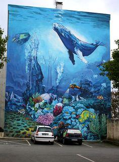 Muhteşem duvar resimleri