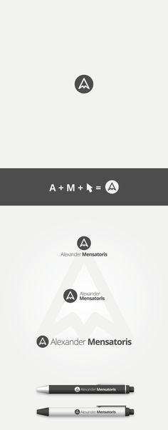 A. M. by Maroš Em, via Behance