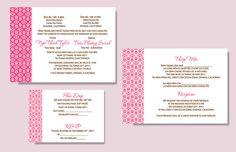 Printable Bilingual Vietnamese Wedding by InvitationsByTiffany, $25.00