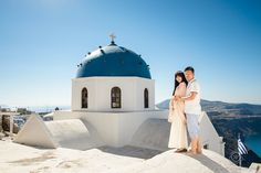 Santorini Pre-Wedding Photography by Rowell Photography  Imerovigli, Santorini Island, Greece