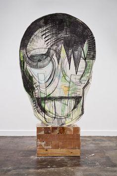 thomas houseago mask - Recherche Google