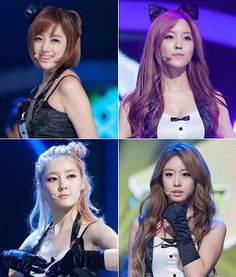 Idol group subunits seem to be the trend these days, and jumping on the bandwagon will be T-ara with their very own unit consisting of 4 members!  Who will be in this currently unnamed subunit? Apparently it will be Jiyeon, Eunjung, Hyomin, and Areum, and they'll be kicking off promotions with a song by one of the hottest producer teams these days, Duble Sidekick!