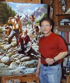 SERENITY: ALFREDO  RODRIGUEZ  -  PICTORUL  WESTULUI   SĂLBAT...