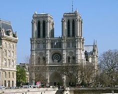 Our hotel in Paris was only about a block away from here, the Notre Dame de Paris (French for Our Lady of Paris).