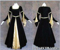Middeleeuwse/gothic/LARP/Lolita/victoriaanse jurk te koop!