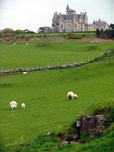 Glengorm Castle. Isle of Mull, Scotland. - Favorite Photoz