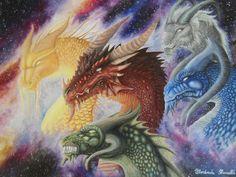 Dragons by FlorindaZanetti.deviantart.com