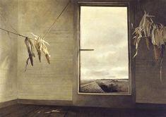 Andrew Wyeth - SEED CORN, 1948