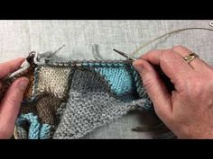 How to Knit Those Eddy Wrap Shells: 2 Handy Videos - Mason-Dixon Knitting