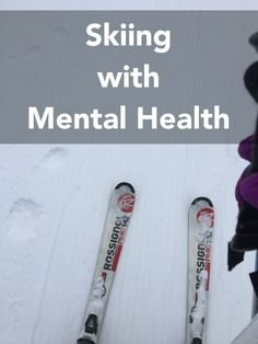 Monday and yesterday, I did the recap of my snow trip from last week, days 1 & 2... days 3 & 4. I did for the first time in my life ski... Skiing with Mental Health. Anxiety, freedom,...