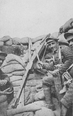 Gallipoli: Catapult Gun In The Trenches 1915